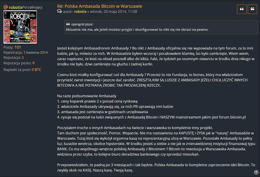 Polskie Forum Bitcoin - Ambasada | Cyfrowa Ekonomia