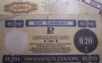 bon towarowy