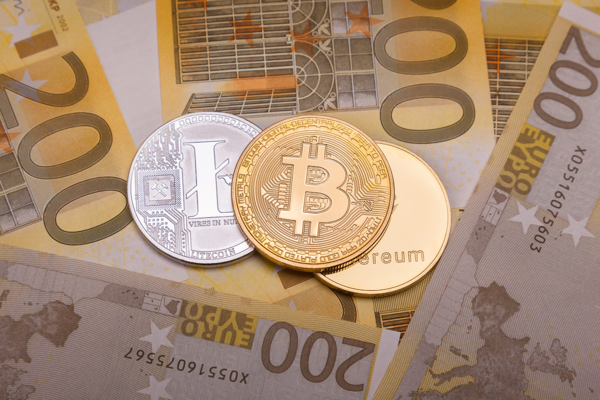 BTC to EUR market on INDOEX
